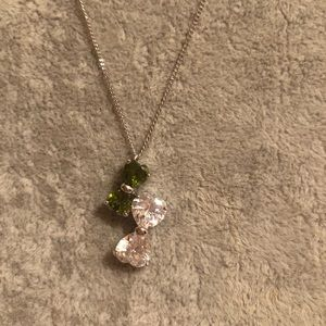Fashion jewelry Crystal necklace
